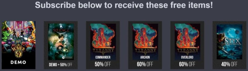 E3 2017 Humble Bundle Digital Ticket items gratuits
