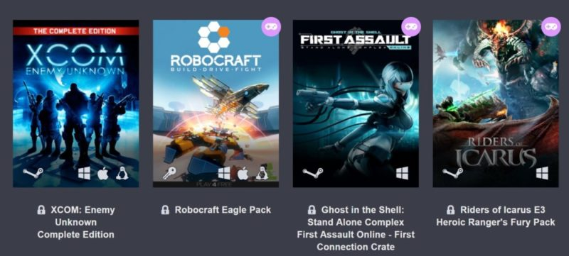 E3 2017 Humble Bundle Digital Ticket deuxième palier