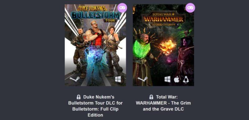 E3 2017 Humble Bundle Digital Ticket 3e palier