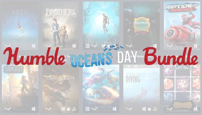 Humble Oceans Day Bundle titre