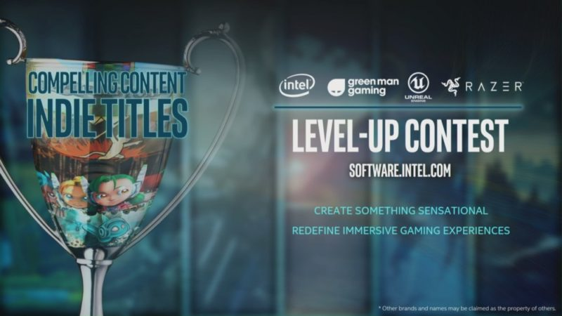 Intel Level-Up Gaming Developer Contest