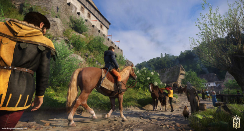 Kingdom Come: Deliverance cheval