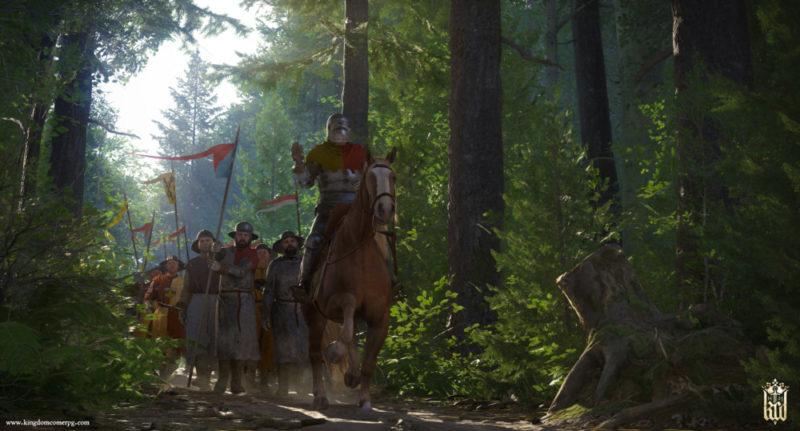 Kingdom Come: Deliverance forêt