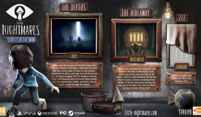 Little Nightmares DLC Secrets of the Maw