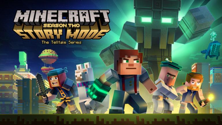 Minecraft Story Mode Season 2 - titre