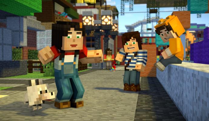 Minecraft Story Mode Season 2 - amis