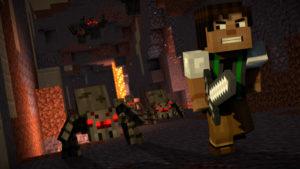 Minecraft Story Mode Season 2 - monstres