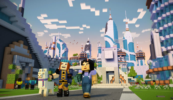 Minecraft Story Mode Season 2 - vie de star