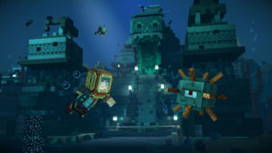 Minecraft Story Mode Season 2 - monde sous-marin