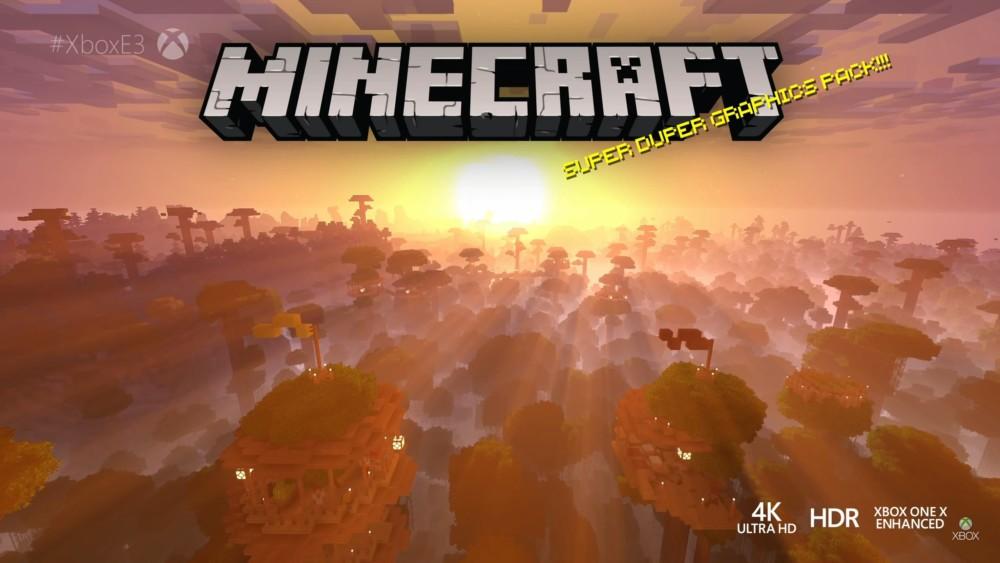 Minecraft graphismes Super Duper Graphics Pack