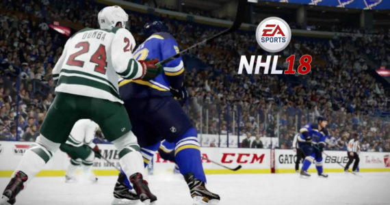 NHL 18 combat