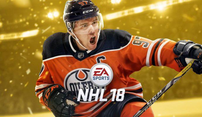 NHL 18 Jaquette