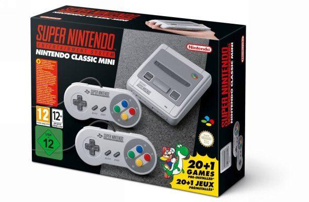 Nintendo Classic Mini: Super Nintendo Entertainment System boîte