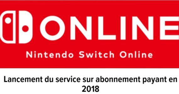 Nintendo Switch service en ligne logo