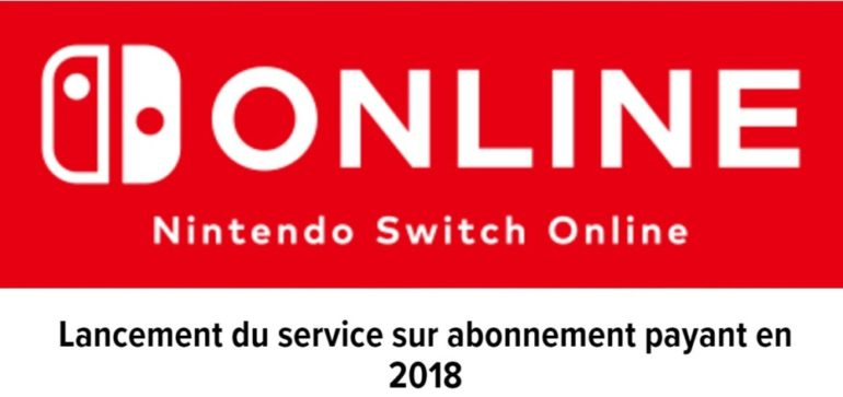 Nintendo Switch service en ligne logo