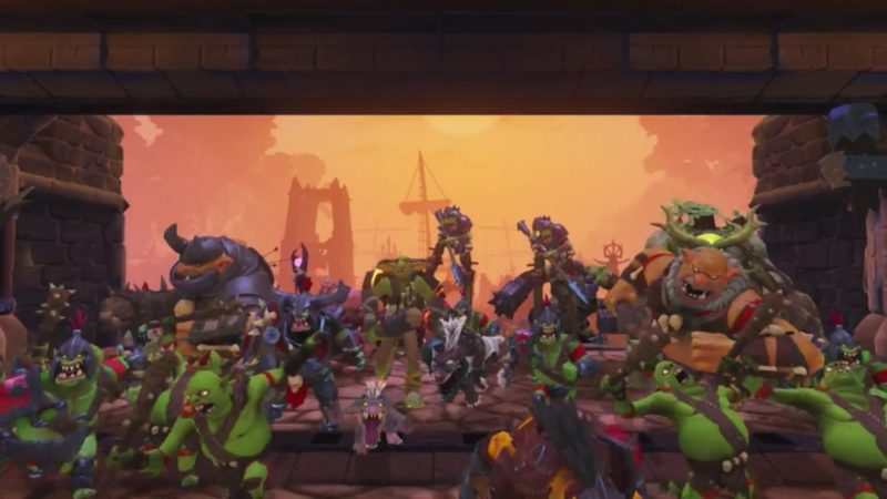 Orcs Must Die! Unchained invasion ps4