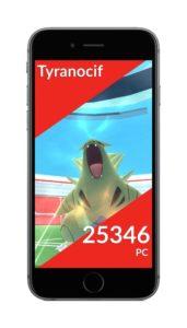 Pokémon Go Raid Géant Tyranocif