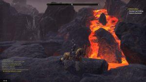 The Elder Scrolls Online: Morrowind lave