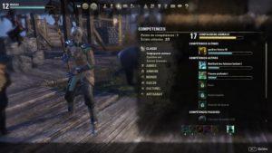 The Elder Scrolls Online: Morrowind compétence