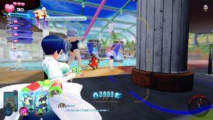 Senran Kagura Peach Beach Splash combat