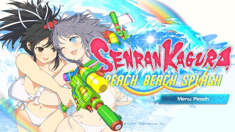 Senran Kagura Peach Beach Splash image