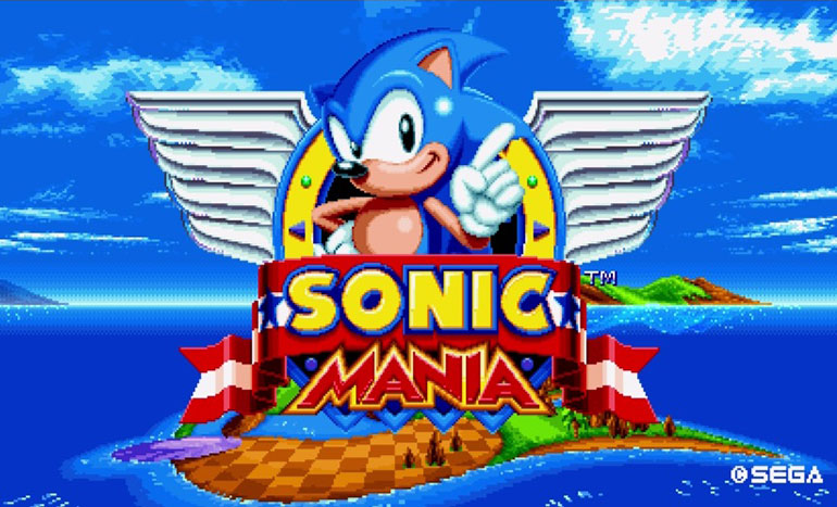 Sonic Mania Sortie Titre