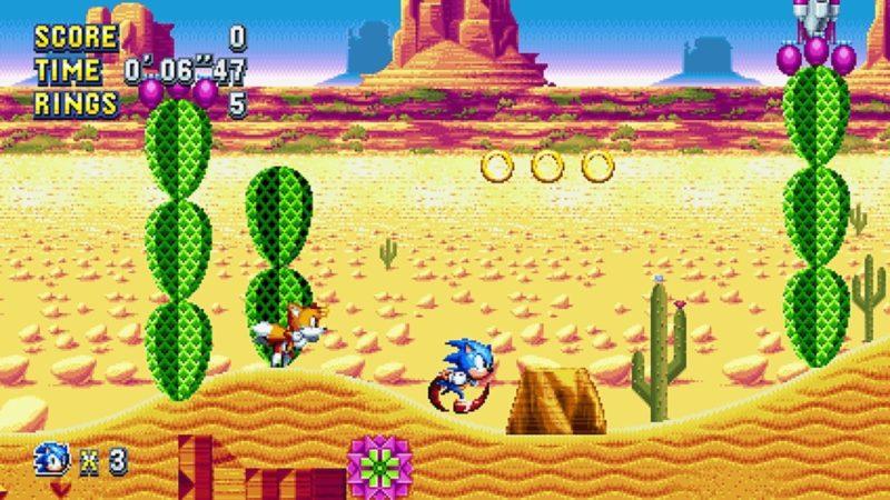 Sonic Mania Sortie bilan 2018