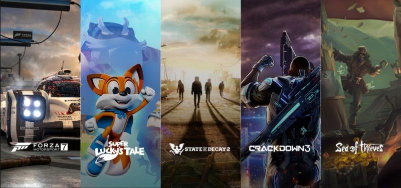 Sorties Xbox One X E3 2017