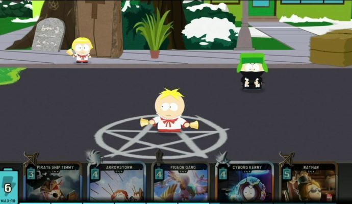 South Park: Phone Destroyer gameplay
