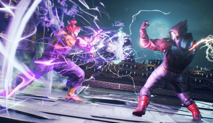 Tekken 7 - Jin Kazama contre Akuma
