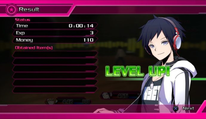 Test Akiba's Beat - Fin de combat