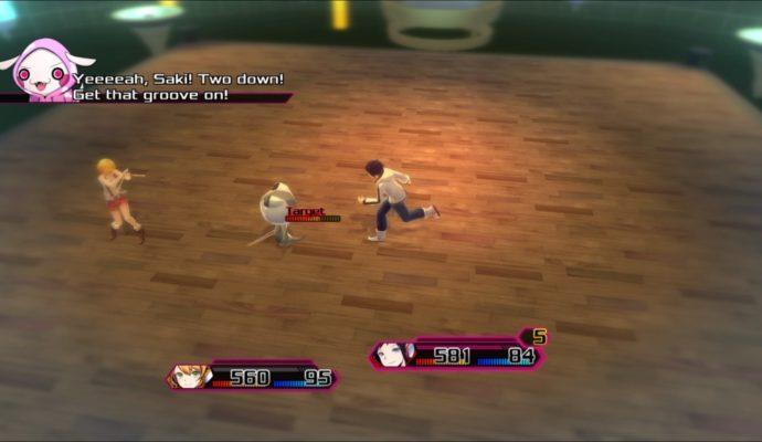 Test Akiba's Beat - Combat position libre