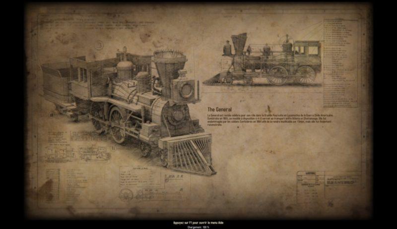 Bounty Train écran chargement