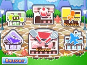 Cooking Mama: Sweet Shop accueil