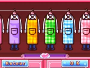 Cooking Mama: Sweet Shop vêtements