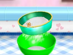 Cooking Mama: Sweet Shop farine tamis