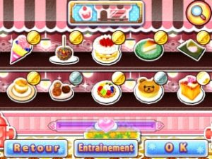 Cooking Mama: Sweet Shop recettes