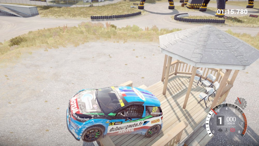 test dirt 4 sur playstation 4 pro lightningamer. Black Bedroom Furniture Sets. Home Design Ideas