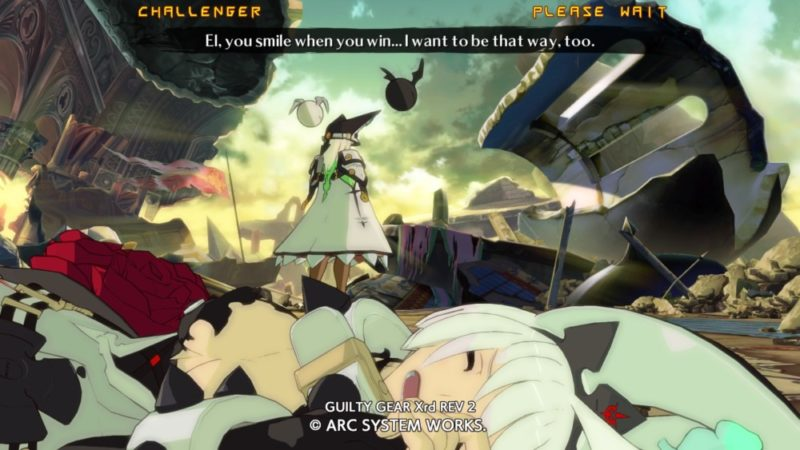 Guilty Gear Xrd Rev 2 - Fin de combat