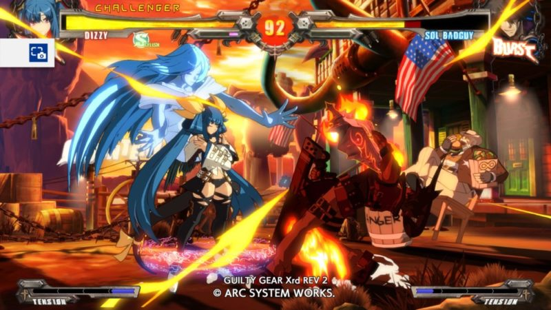 Guilty Gear Xrd Rev 2 - affrontement