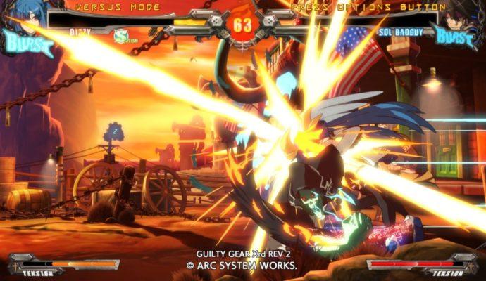 Guilty Gear Xrd Rev 2 - attaque spéciale