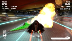 WipEout Omega Collection - explosion