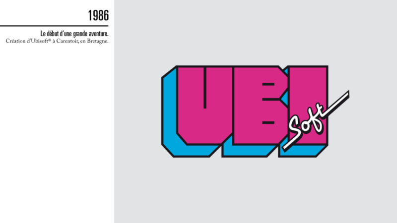 Premier Logo d'Ubisoft