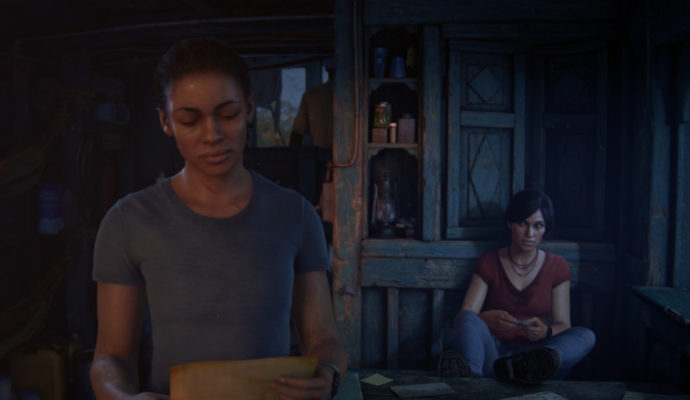 Uncharted: the Lost Legacy Chloe et Nadine