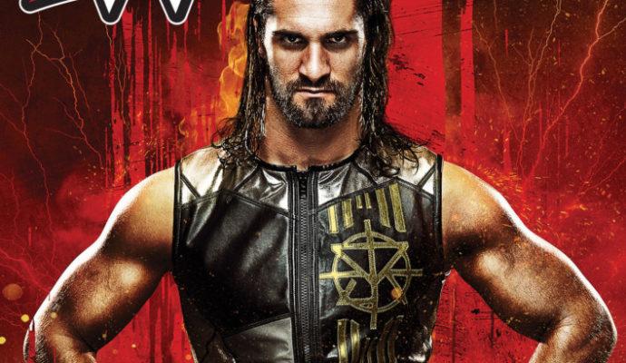 WWE 2K18 Jaquette