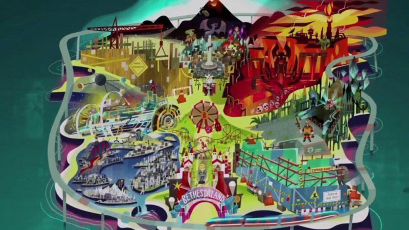 E3 2017 conférence Bethesda Bethesdaland
