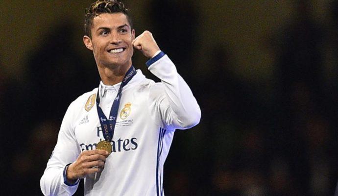 Cristiano Ronaldo, l'égérie de FIFA 18