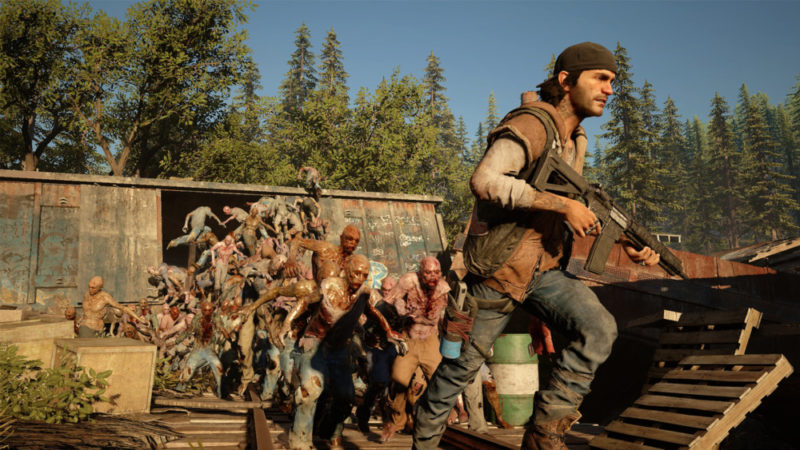 Days Gone zombies