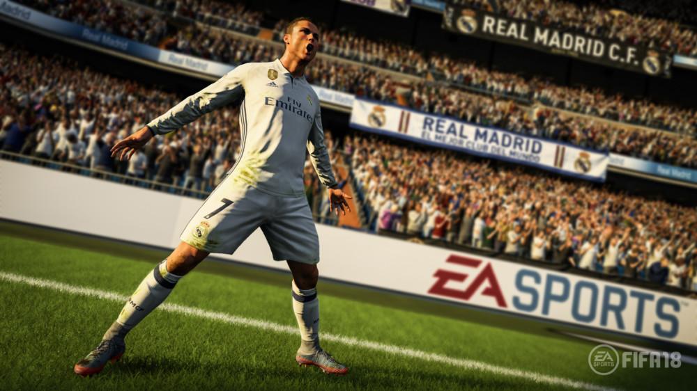Cristiano Ronaldo dans FIFA 18