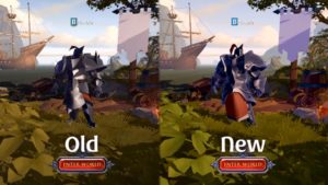 Modifications d'armures d'Albion Online